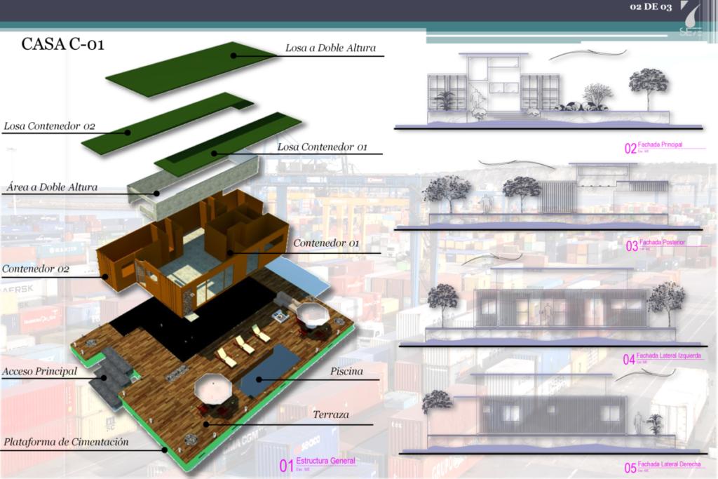 Construir su casa en Cancun con professional arquitectos