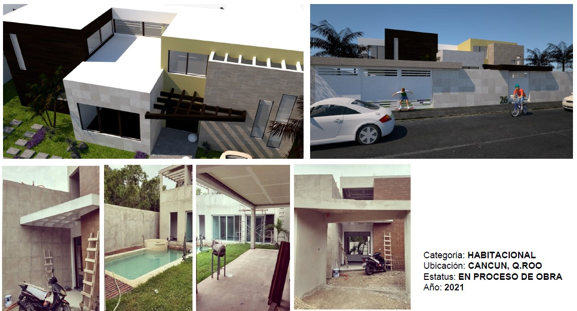 Casa Constructoras en Cancun
