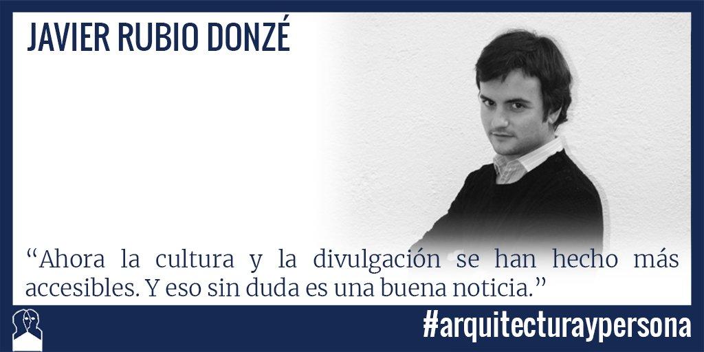 Entrevistas, conferencias y publicaciones de Javier Rubio Donzé # arquitecturaypersona-STEPIEN Y BARNO Blog