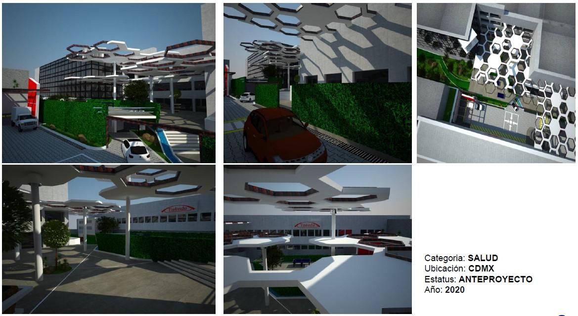 Proyecto urbano Constructoras en Cancun